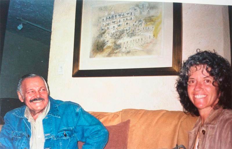 Lewinson Art siente el fallecimiento del gran artista José Luis Cuevas a quien le hizo una entrevista en mayo 2007